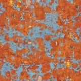 Wzór nieociosany pomarańczowy grunge materiał fotografia stock
