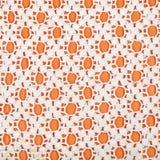 Wzór od rożek sieci haftującej szydełkowym obraz stock