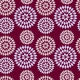 Wzór openwork kwiaty Obrazy Royalty Free