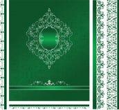 wzór ornamentu ramowy Zdjęcie Royalty Free