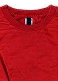 wzór oznakowania etykiety czerwone koszule t Fotografia Royalty Free
