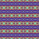 Wzór płytki w jaskrawych kolorach gwiazdy ilustracji
