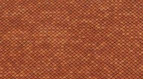 Wzór płytki wykłada przypadkowo w czerwonym kolorze Zdjęcia Royalty Free