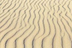 Wzór piaskowata plaża Zdjęcia Royalty Free
