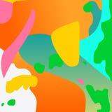 Wzór psychodeliczni kolory Zdjęcia Royalty Free