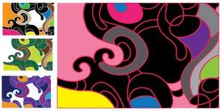 wzór różowy Obrazy Royalty Free