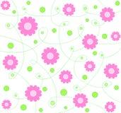 wzór różowy kwieciste Fotografia Royalty Free