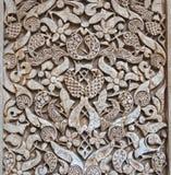 Wzór średniowieczna arabska sztuka przy Alhambra Fotografia Royalty Free