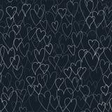 Wzór serca Zdjęcia Stock