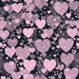 Wzór serca Obrazy Stock