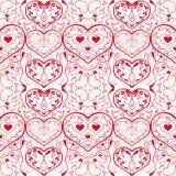 wzór serce Zdjęcia Stock