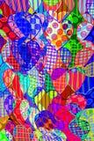 wzór serce Obraz Stock