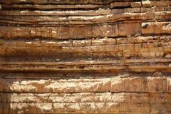 Wzór skały pustynia Zdjęcie Royalty Free