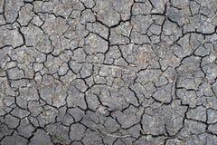 Wzór sucha ziemia Zdjęcie Royalty Free