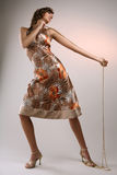 wzór sukienkę Fotografia Royalty Free