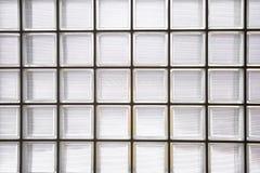 Wzór szklanego bloku ściana Obrazy Royalty Free