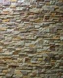 Wzór Ukazujący się Nowożytny ściana z cegieł. Zdjęcie Royalty Free