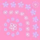 wzór vectorial kwiat Fotografia Royalty Free