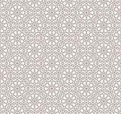 Wzór w islamskim stylu royalty ilustracja