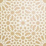 Wzór w islamskim stylu ilustracji