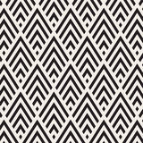 Wzór w zygzag Klasycznego szewronu bezszwowy wzór 10 tło projekta eps techniki wektor Obraz Royalty Free