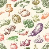 Wzór warzywa Zdjęcia Stock