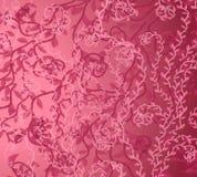 wzór winorośli różowego tło Obrazy Stock