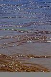 wzór Yellowstone płaski błoto Fotografia Royalty Free