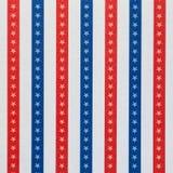 Wzór z błękitem i czerwonymi liniami retro konsystencja Zdjęcia Stock