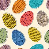 Wzór z jajkami ilustracji
