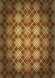 Wzór z klasycznym Argyll wzorem Fotografia Stock