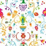 Wzór z Krymskim Tatar ornamentem Fotografia Royalty Free