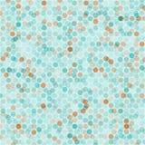 Bezszwowy wzór z małymi punktami Fotografia Royalty Free