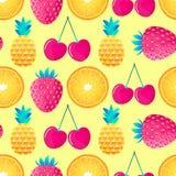 Wzór z owoc ilustracji