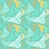 Wzór z piękny origami motyli rysować Obraz Stock