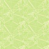 Wzór z piękny origami motyli rysować Bezszwowy bac Zdjęcie Royalty Free