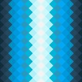 Wzór z zmrokiem - błękit i błękitów kwadraty Zdjęcia Stock