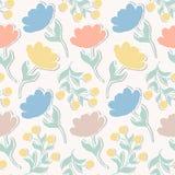 Wz?r z papierowymi tulipanami ilustracji