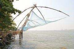 wzdłuż chińczyka wybrzeże zarabia netto morze Zdjęcie Stock