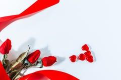 wzdłuż tło koloru płynący serca wiosłują płynnie valentine Walentynki Czerwona Abstrakcjonistyczna tapeta tło kolaż obrazy royalty free