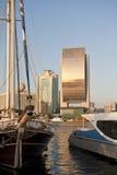 wzdłuż zatoczki Dubai zdjęcie royalty free