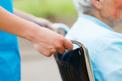 Wózek inwalidzki Fotografia Stock