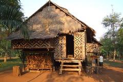 wzgórza domowy Laos plemię Zdjęcia Royalty Free