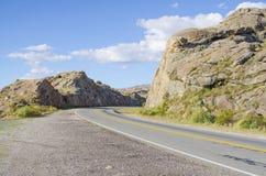 Wzgórza drogowi Fotografia Stock