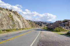 Wzgórza drogowi Zdjęcie Royalty Free