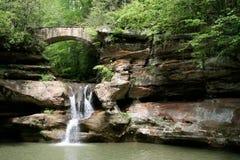 wzgórza hocking wodospad Zdjęcie Royalty Free