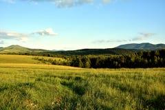 Wzgórza i łąki Fotografia Royalty Free