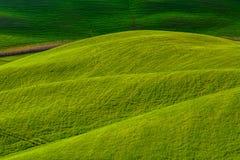 Wzgórza i słońce Zdjęcia Stock