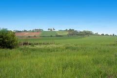 wzgórza krajobrazu Obrazy Royalty Free