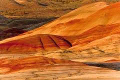 wzgórza malowali Obrazy Stock